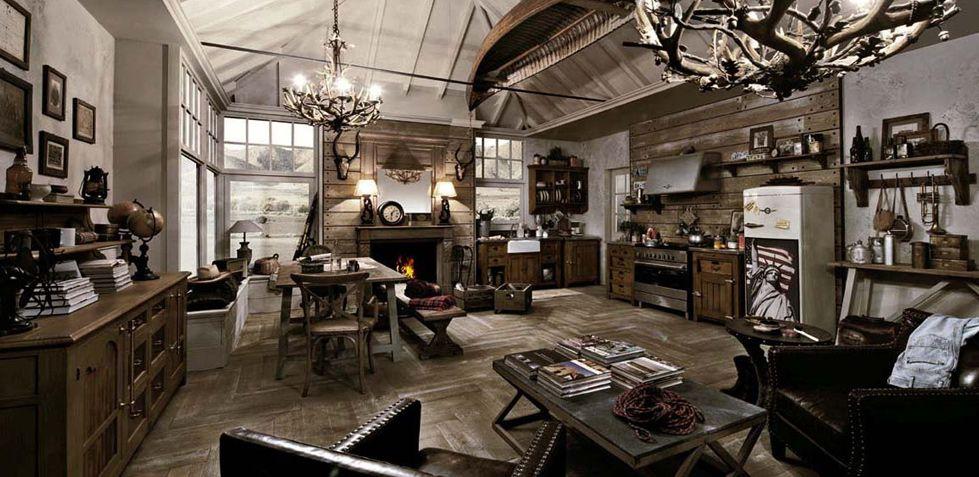 cucine stile industrial - Google Search | Arredamento ...