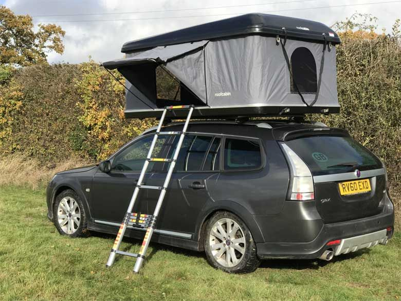 New Saab Motorhome Solution Roof tent, Tent, Streamline