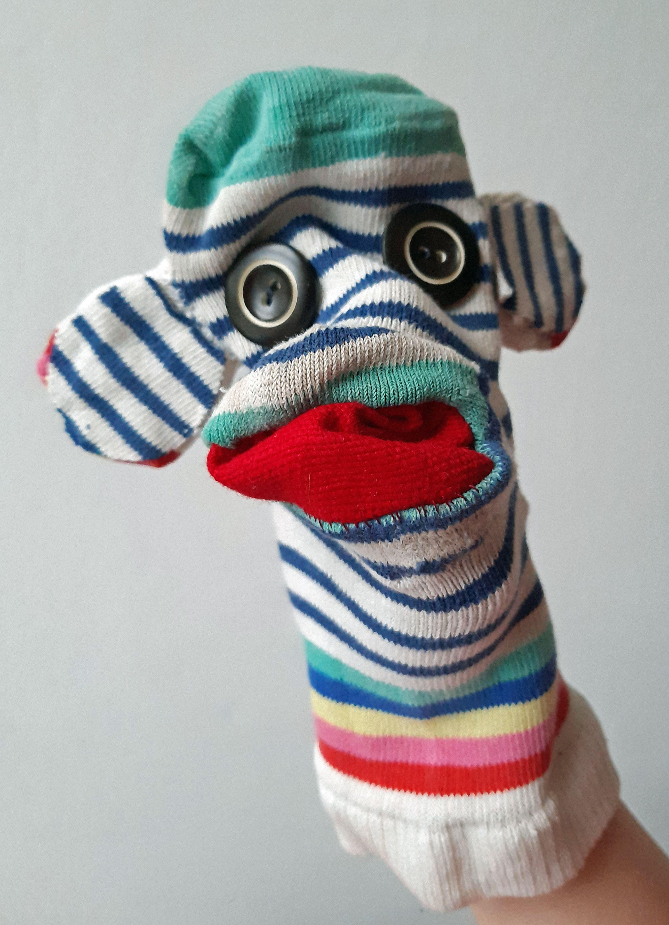 Sock Puppet In
