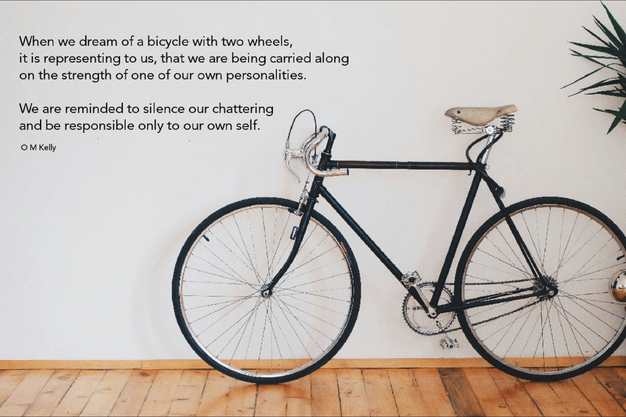 Quotes By Omni On Instagram Instagram Dream Bicycle