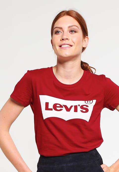 4b67841ffd060 Vêtements Levi s® THE PERFECT - T-shirt imprimé - sun dried tomato rouge  foncé  29