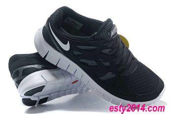separation shoes 8a3f5 c39da Nike Free Run 2 Black Gray Sneaker Mens Nike Frees Sneakers 50% off