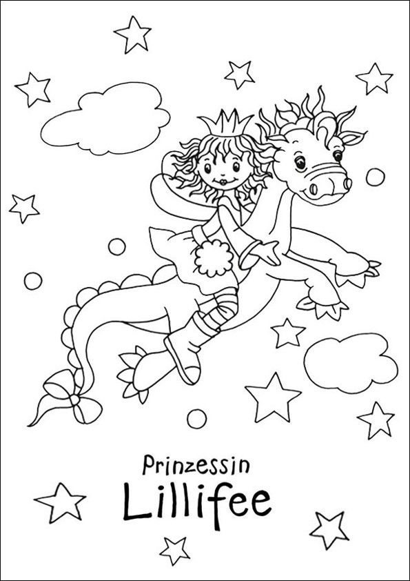 Lillifee 17 Jpg 595 842 Wallpaper Backgrounds Coloring Pages Wallpaper
