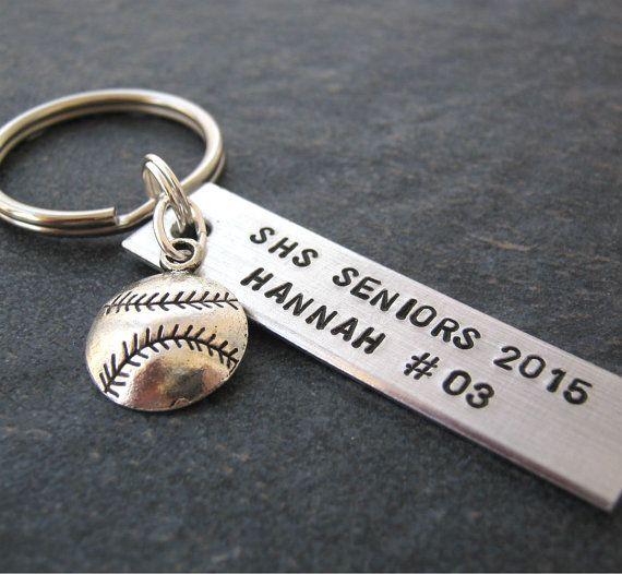 personalized softball keychains bulk