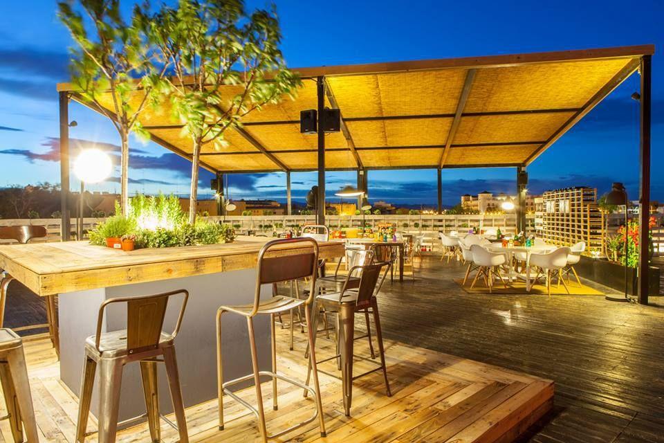 Decoraci n arquitectura terraza restaurante - Decoracion exteriores ...