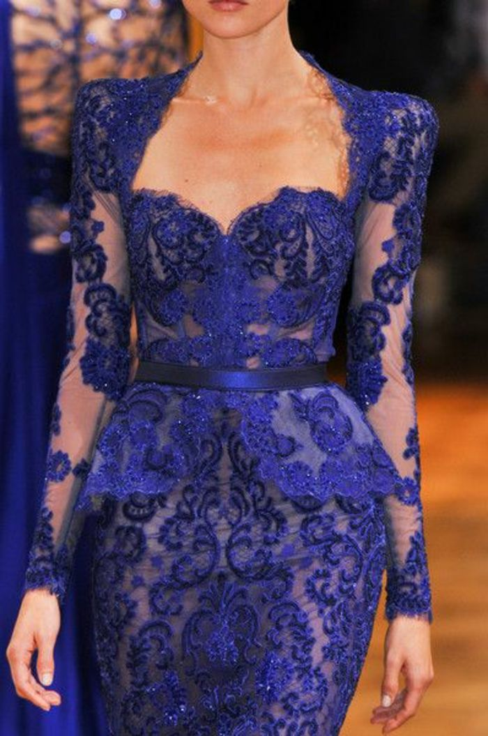 3968faf051 comment choisir la meilleure robe de soiree pas cher en dentelle bleue