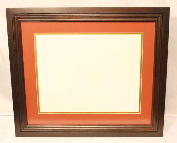 Solid Walnut Diploma Frame For Diplomas Measuring 11 X 14 Diploma Frames Diploma Frame Frame Solid Walnut