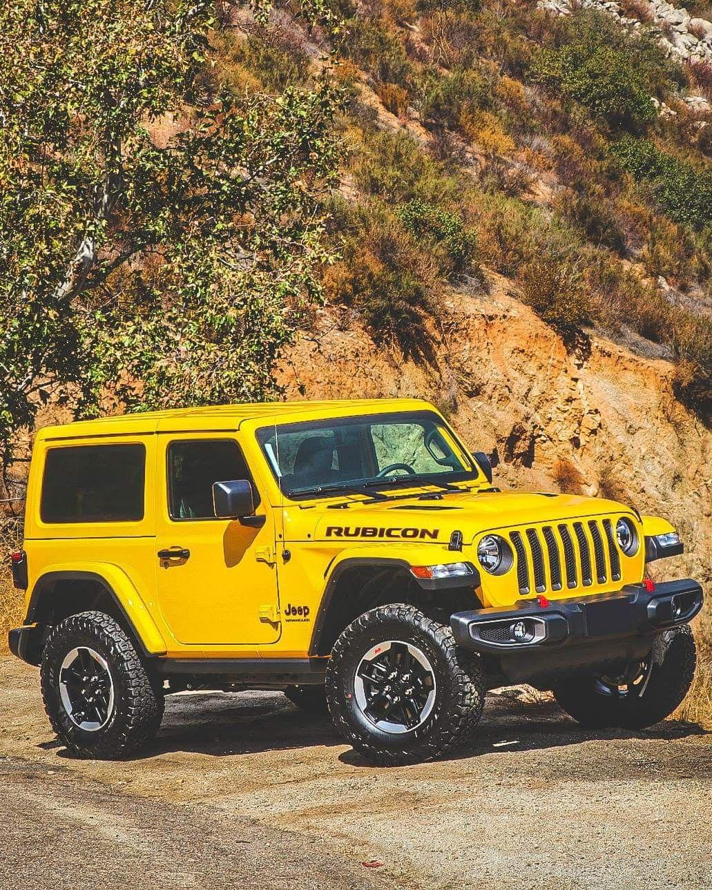 Rubicon Yellow Jeep Wrangler Jeep Jl Offroad Jeep