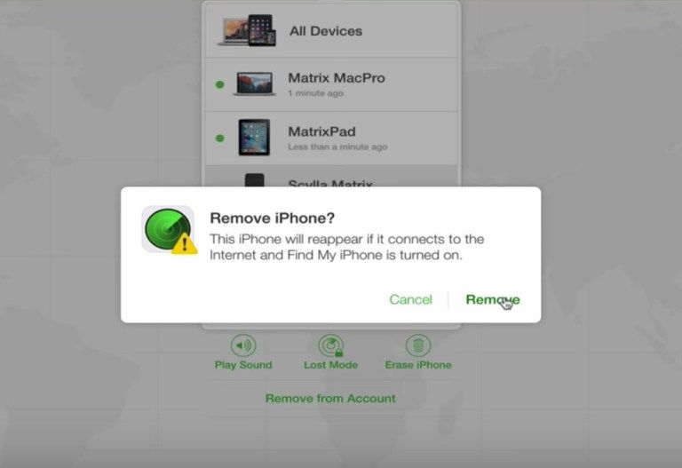 Turn Off Find My iPhone with a Computer from