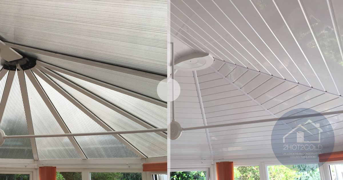 Pin By 2hot2cold Ltd On Before After Conservatory Insulations Conservatory Roof Insulation Tiled Conservatory Roof Conservatory Insulation