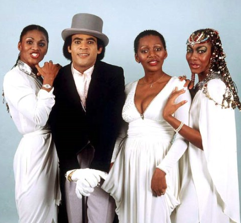 Boney M The Group From West Germany Was Created By Producer Frank Farian In 1975 And Was Composed Of Four West Indian Artists Worki Boney M Promis Lichter