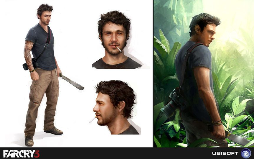 Character Concept Art by Bruno Gauthier-Leblanc 6