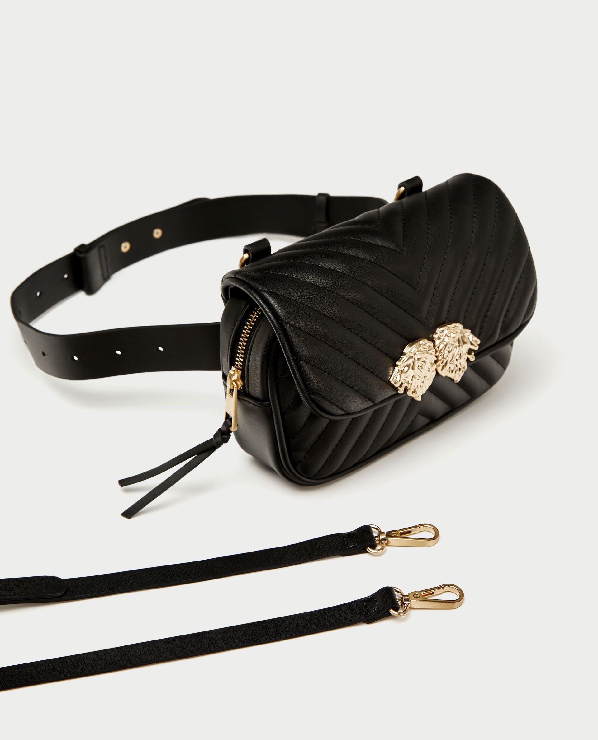89628f1de3c221 Crossbody belt bag with lionhead detail | + wishlist | Crossbody bag ...