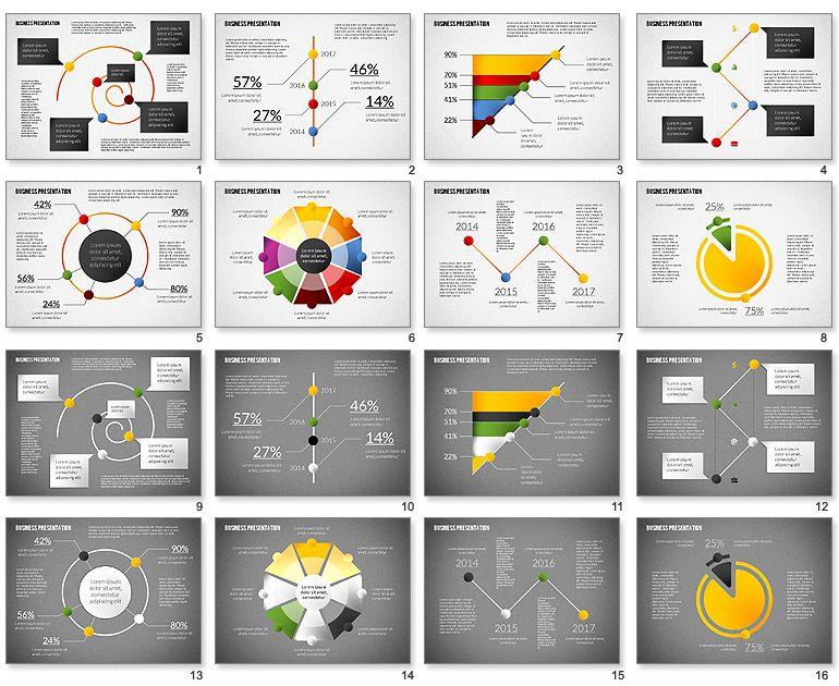 Elegant Business Presentation Template For Powerpoint  Dissertation