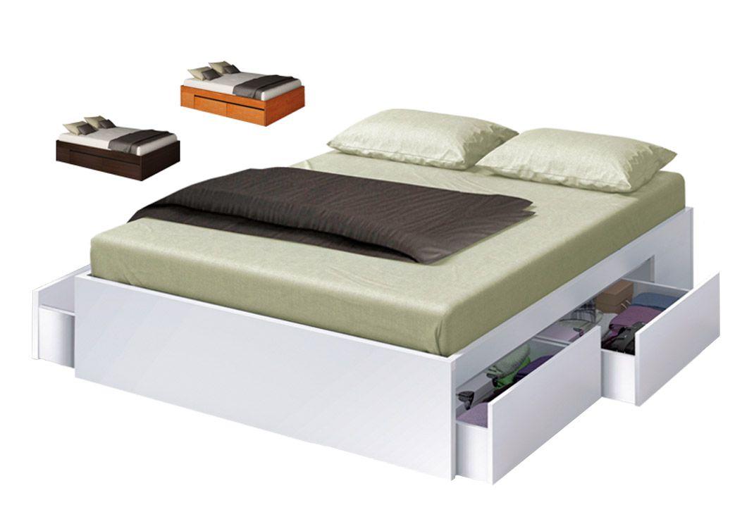 Camas para ganar espacio en el dormitorio | Almacenamiento en el ...