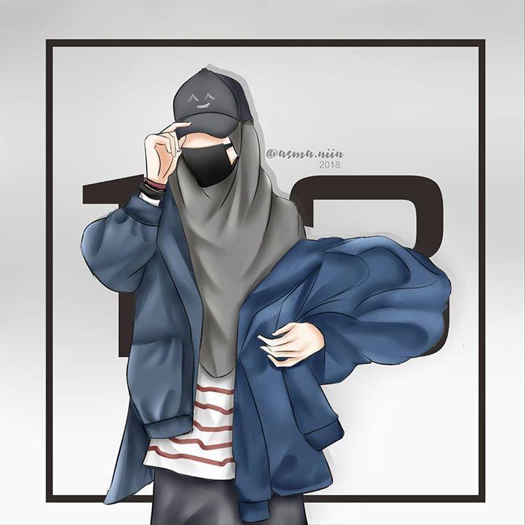 Pin Di Muslimah Daily Cool tomboy hijab anime wallpaper