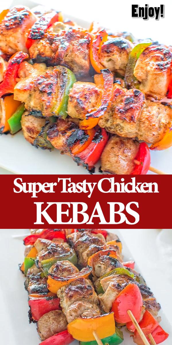 Chicken Kebabs #chickenkabobmarinade