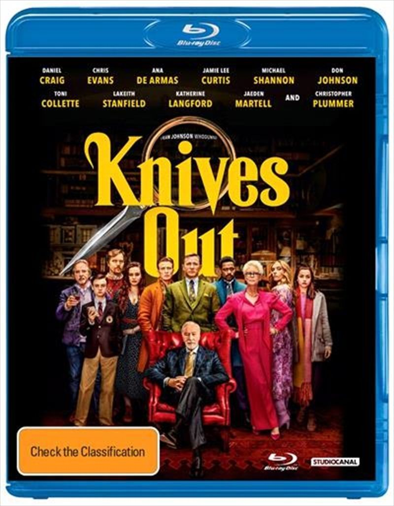 Blu Ray Knives Out