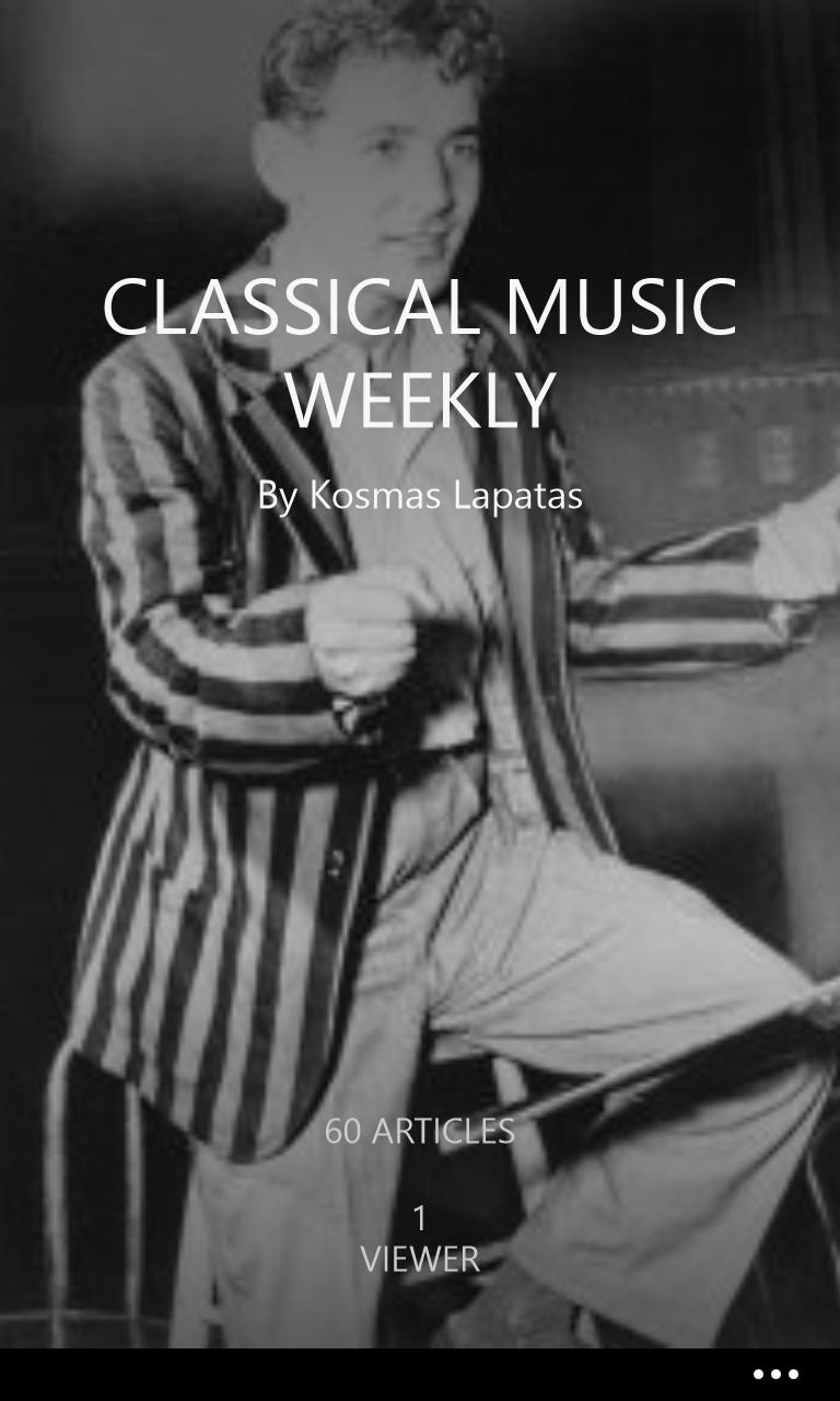 Follow me on @flipboard #klapatas #greekpianist