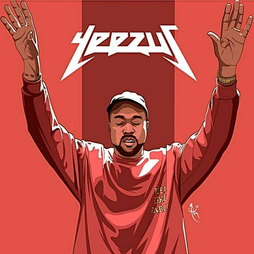 background and kanye west image Rapper art, Hip hop art