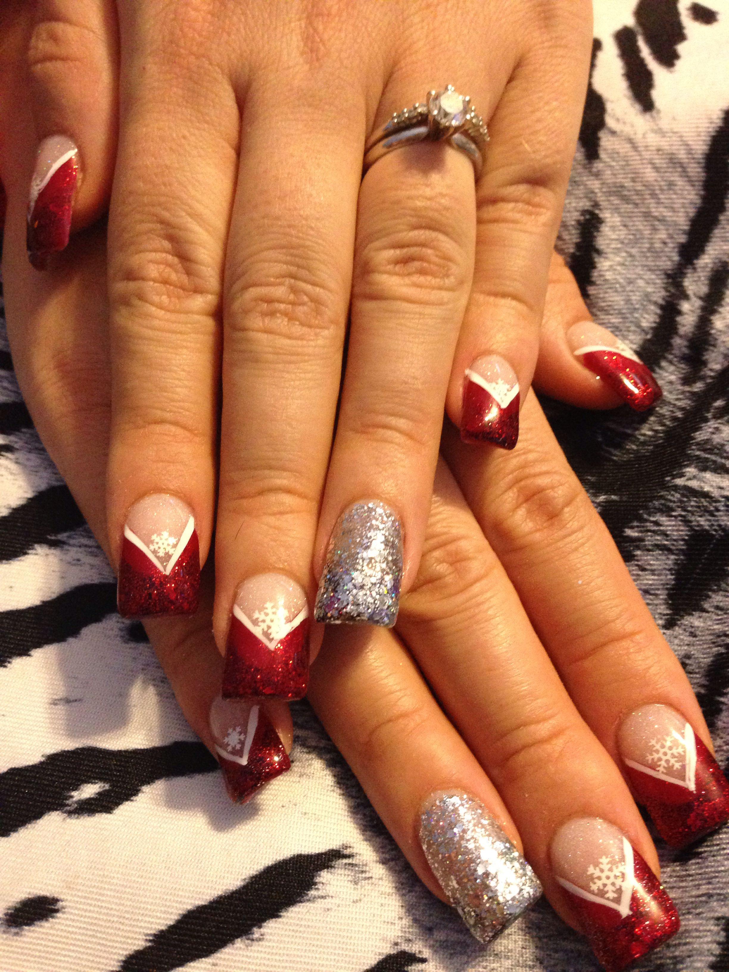Acrylic nails saraus nail designs pinterest fingernail designs