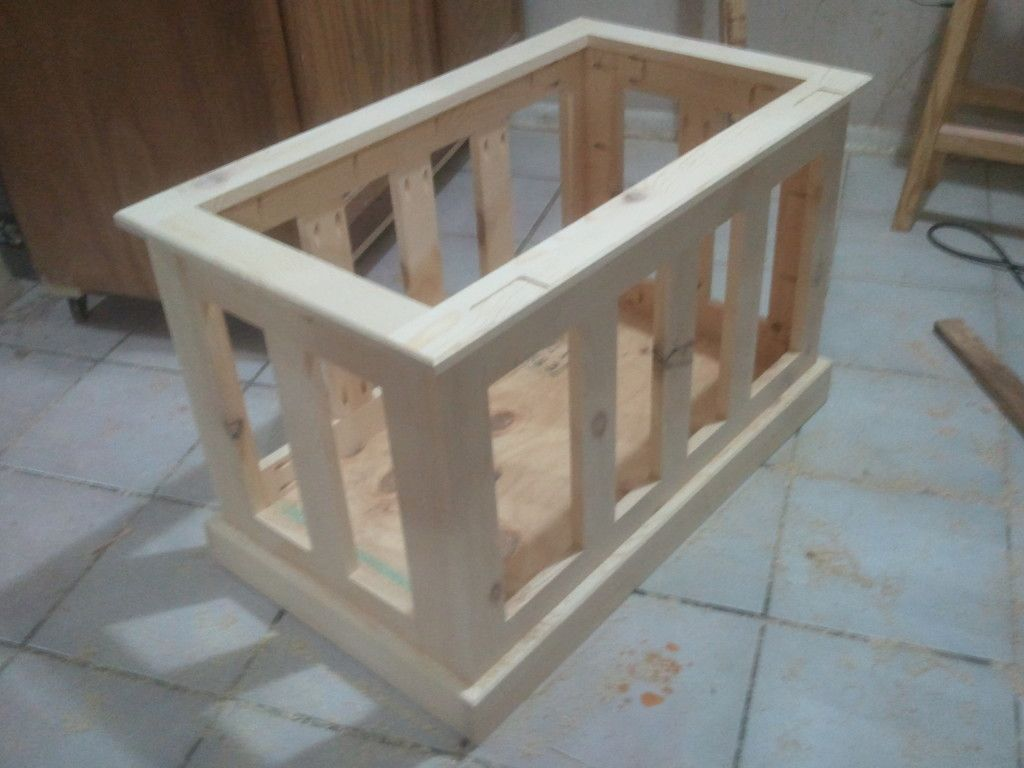 How To Build A Pocket Hole Blanket Chest Chests Diy Blanket Chest Wood Projects Plans