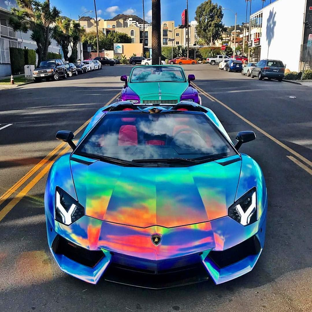 """Max Logan on Instagram """"Crazy colors on this Aventador"""
