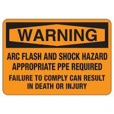 Arc Flash Definition Osha Category Levels For Sticker Requirements