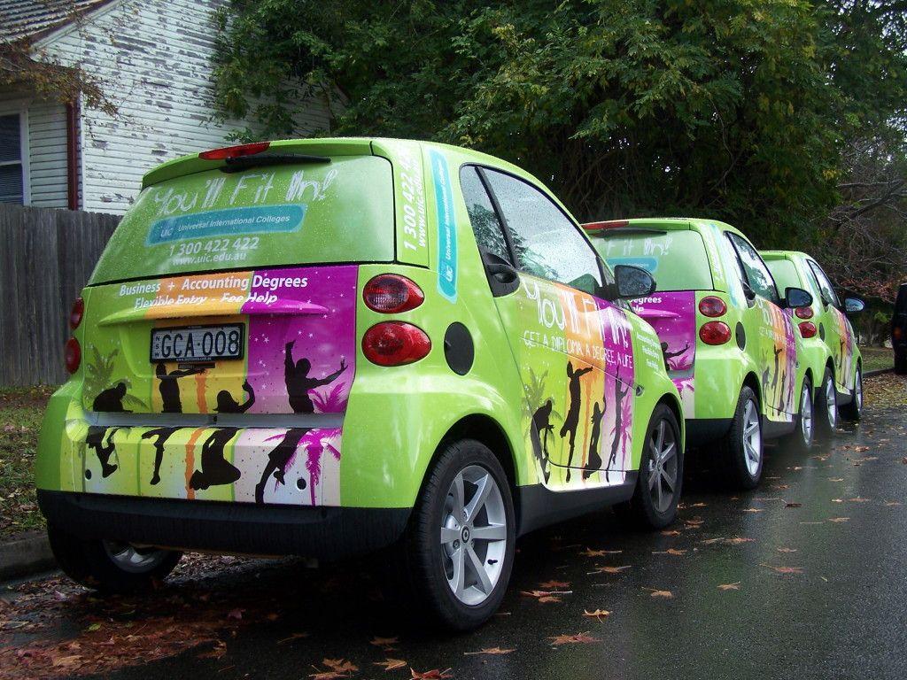 Ubss Vehicle Wrap Car Wrap Vehicles Smart Car