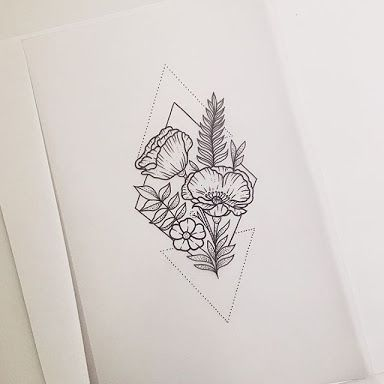 0d518b955 Pics Of My Favorite Geometric Tattoos | Tattoos | Flower tattoos ...