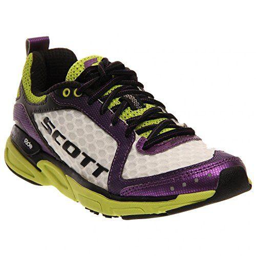 Scott Running Womens Eride Trainer 2 Running ShoeWhitePurple8 M US * Click image to review more details.