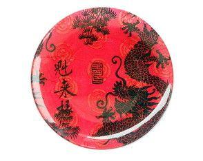 Dragão chinês - Prato Médio