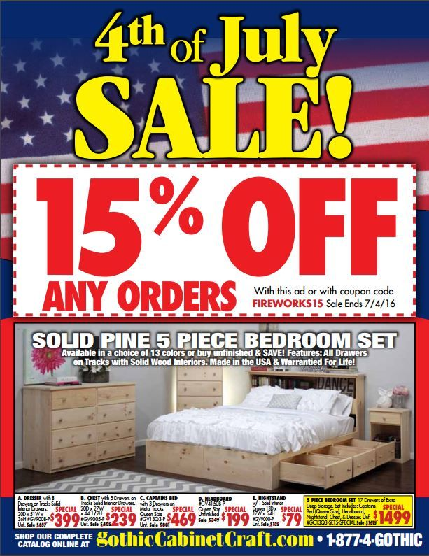 Our 4th Of July Sale Is Going On Now 4thofjulysale Realwood
