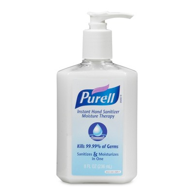 Purell Instant Hand Sanitizer Moisture Therapy 8 Fl Oz Adult