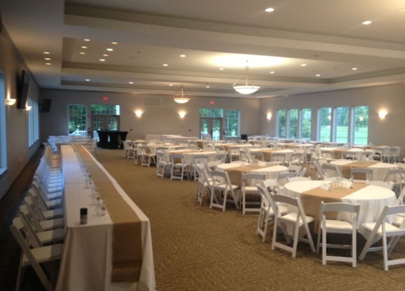 Zionsville Banquet Hall The Cardinal Room at Golf Club of Indiana