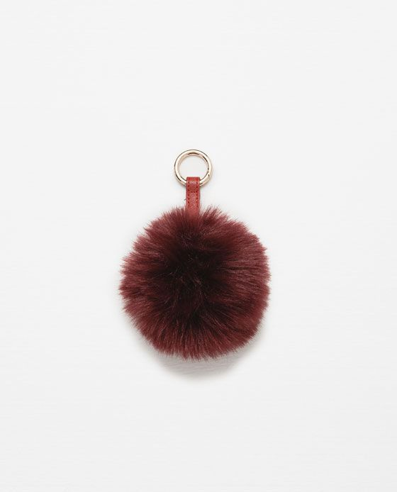Image 1 of FAUX FUR KEYRING from Zara  17b32c7c2a