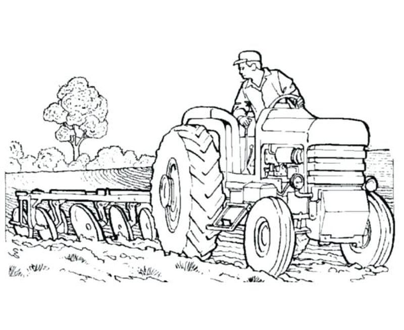 Printable Tractor Coloring Pages For Kids Free Coloring Sheets Tractor Coloring Pages Farm Coloring Pages Cartoon Coloring Pages