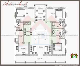 Image Result For South Indian Traditional House Plans Indian House Plans Model House Plan Kerala House Design