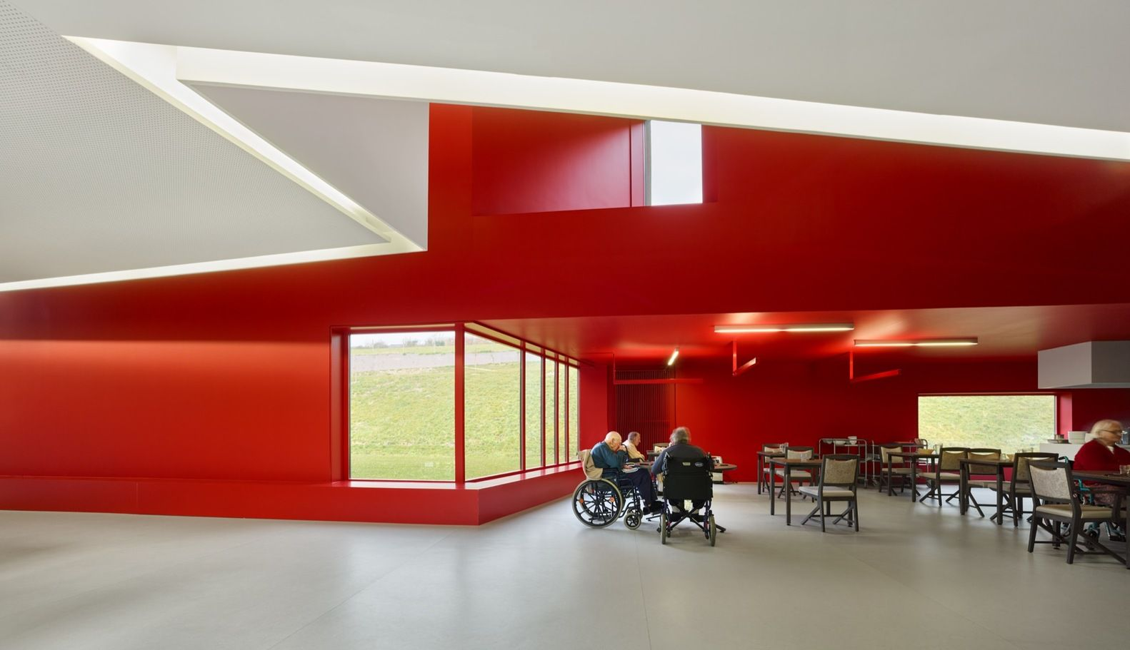 Gallery Of Home For Dependent Elderly People And Nursing Dominique Coulon Associs