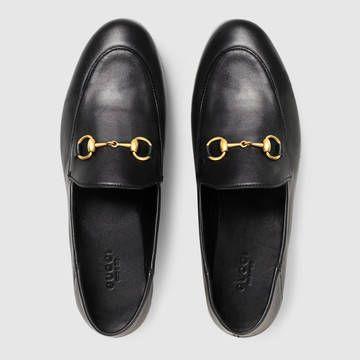1b56bb698fb Brixton leather Horsebit loafer