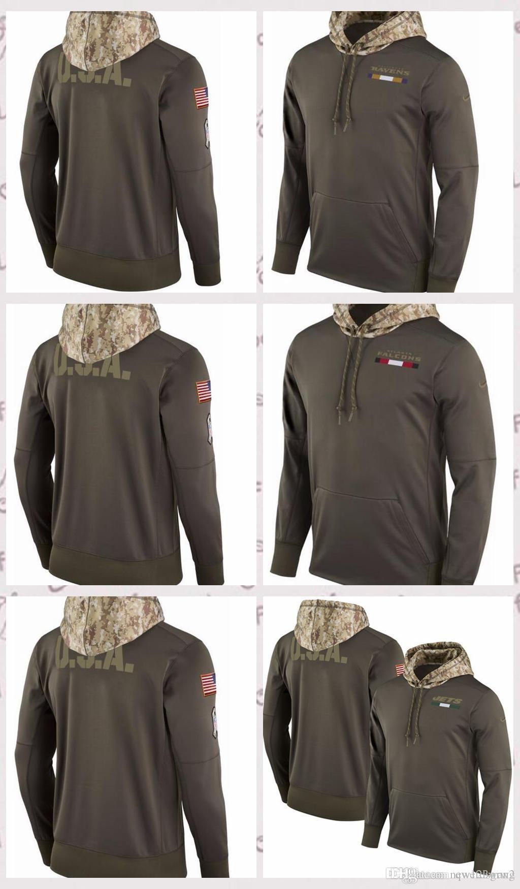 28 fashionable atlanta falcons salute to service hoodie