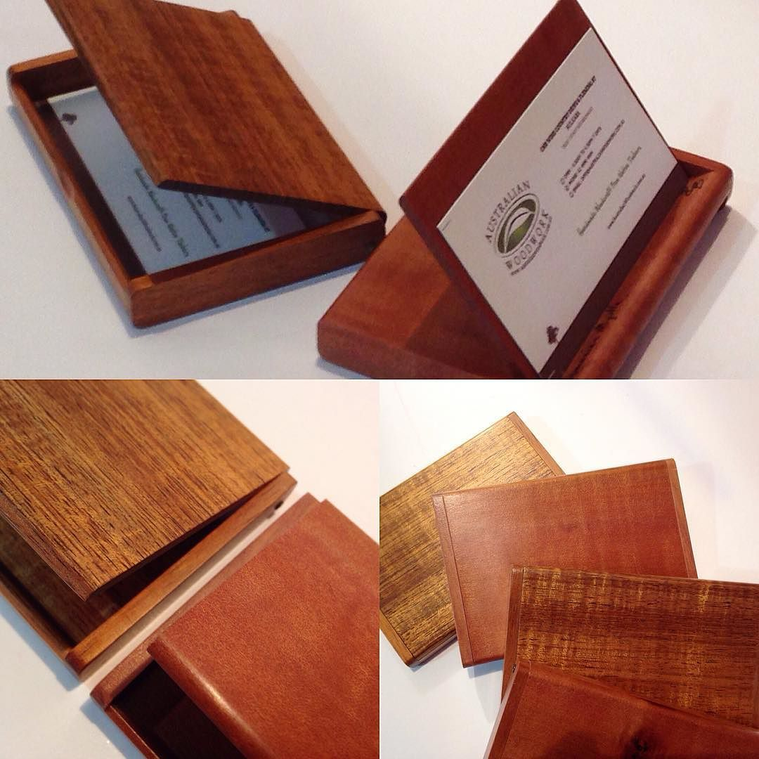 These slim dual purpose business card holders are back in stock at ...