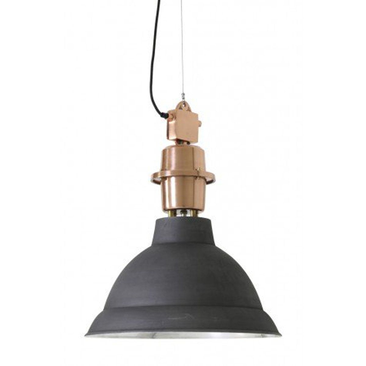 Large Industrial Warehouse Pendant Light Black With Images