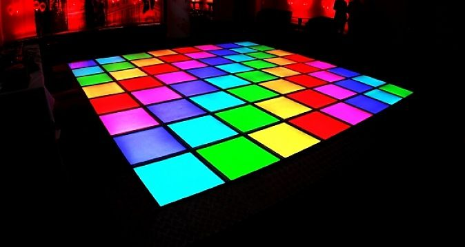 The Illuminating Dance Floor Is Just So Much Fun How Can