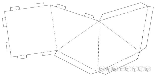 Calendar Pyramid 150x150 Boxes And Bags Pinterest Templates