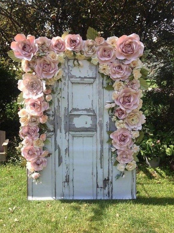 50+ Stunning Paper Flower Decoration for Wedding