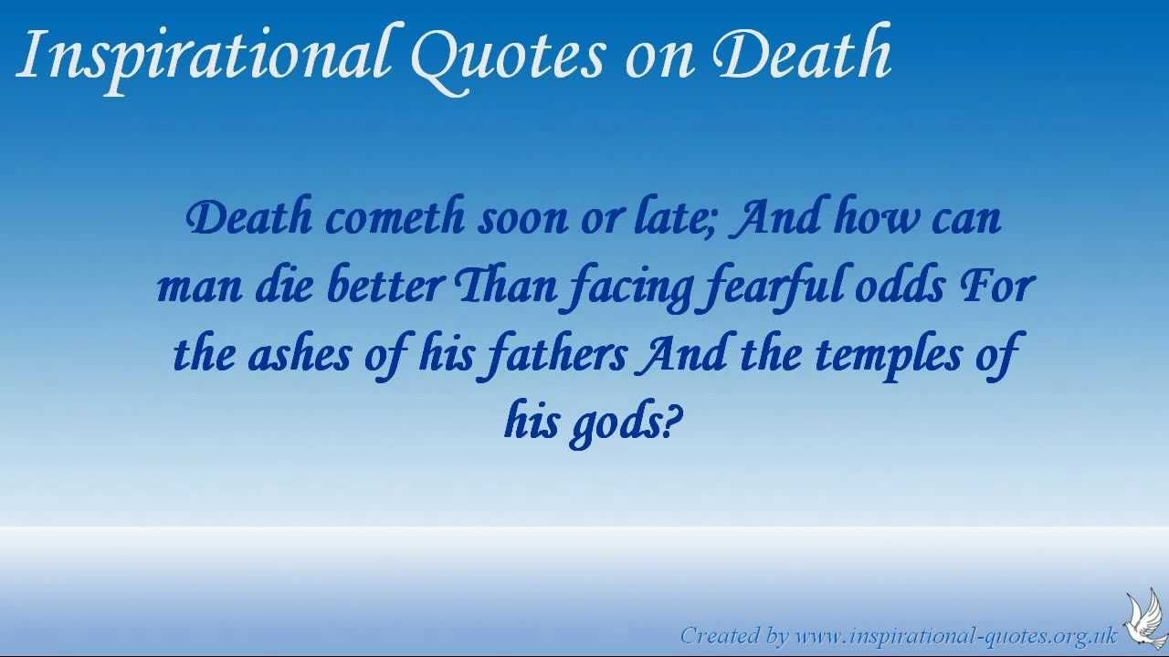 Inspirational Quotes About Death Pinsunita Verma On Death A Bitter Truth  Pinterest  Bitter And .