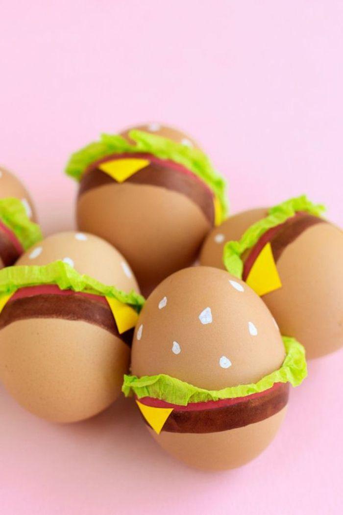 1001 ideen f r lustige ostereier zum nachmachen gesunde snacks ostern eier und ostereier - Gekochte eier dekorieren ...