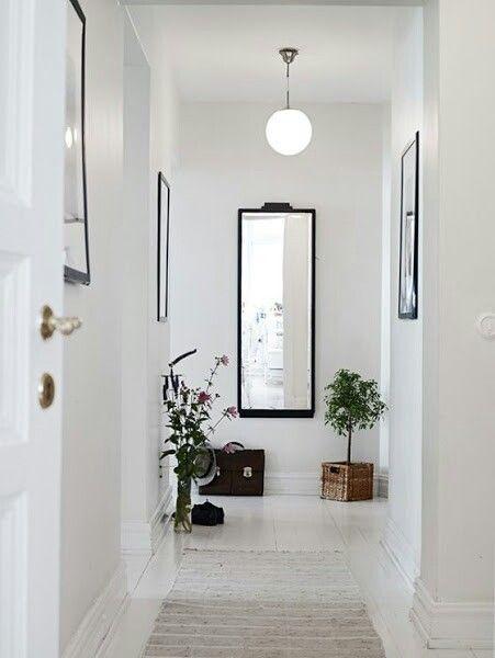 Pasillos Decoracion de recamaras Pinterest Pasillos, Recibidor - decoracion pasillos