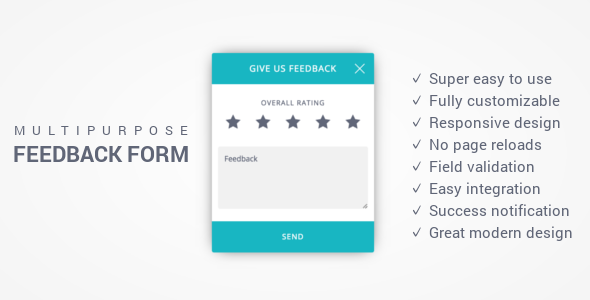 Download Free Feedback Form  Responsive MultiPurpose Ajax